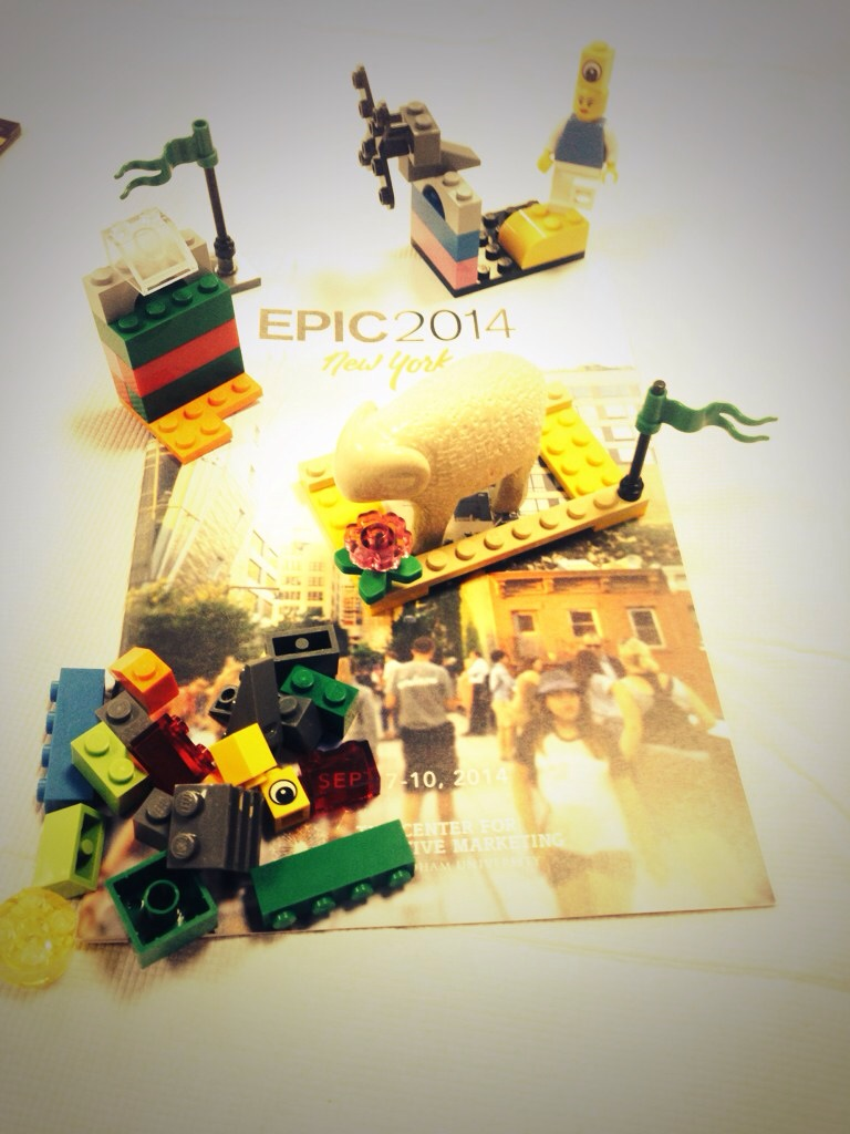 legos on an EPIC2014 program