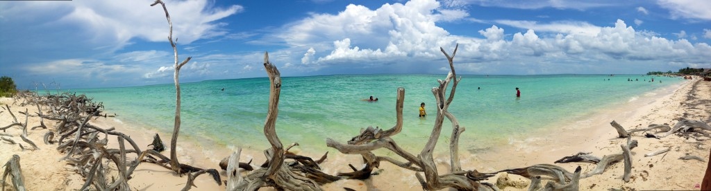 Pristine beaches of Cuba