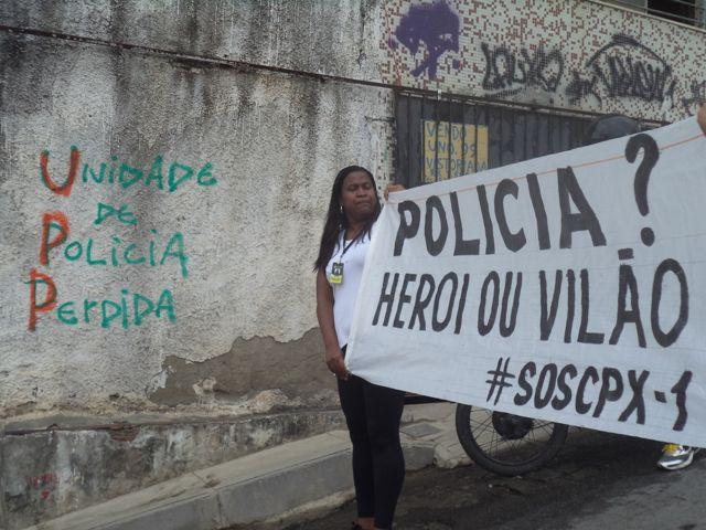 Police—Hero or villain? Complexo Do Alemão, Catalytic Communities via Flickr, CC BY-NC-SA 2.0