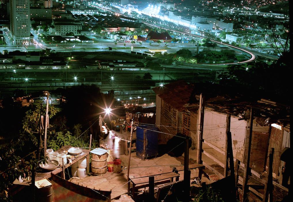 Favela x Asphault by Night by Mauricio Hora via Flickr, CC BY-NC-SA 2.0