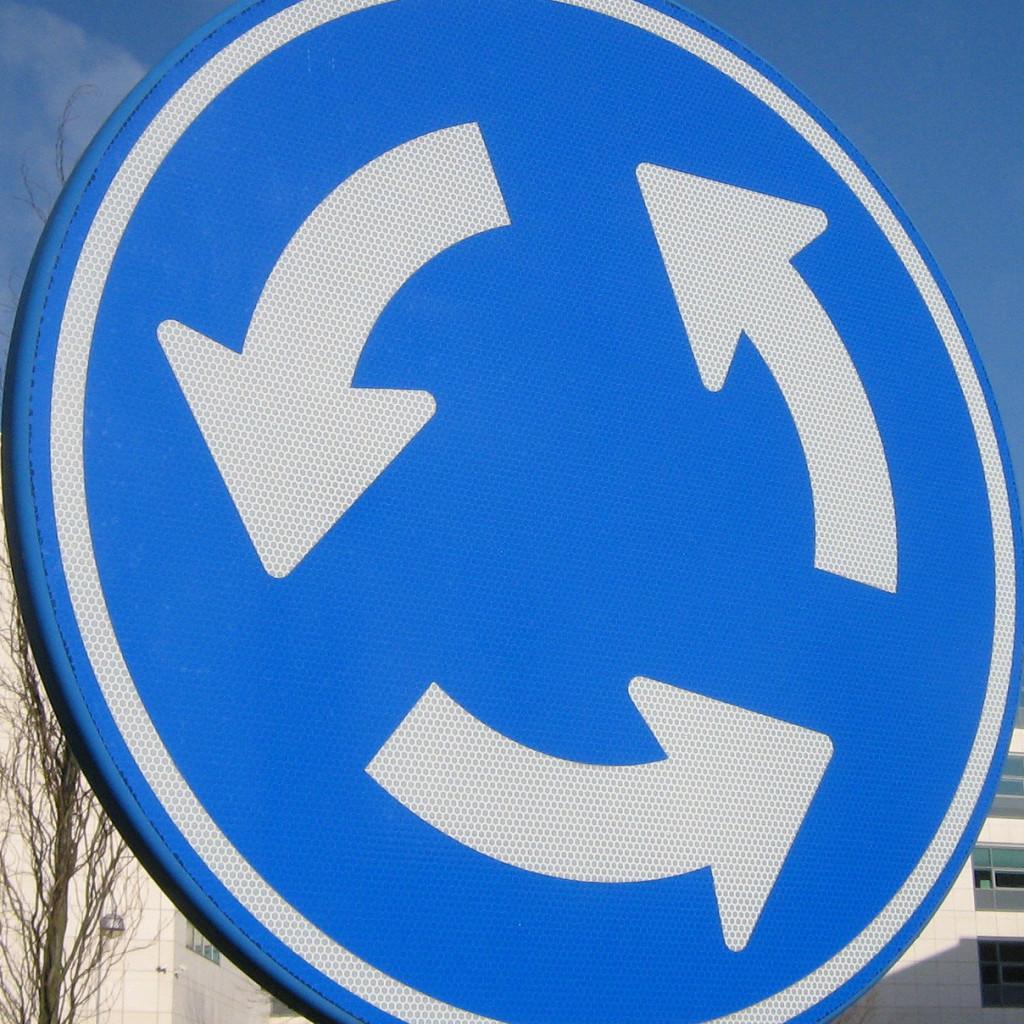 roundabout DennisM2 via flickr CC BY 2.0