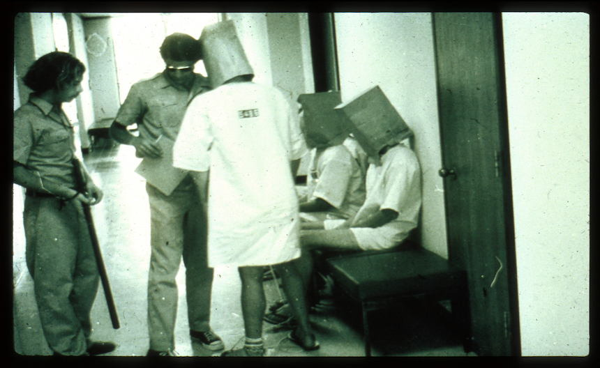 """Awaiting Parole Board Hearing,"" The Stanford Prison Experiment, prisonexp.org"