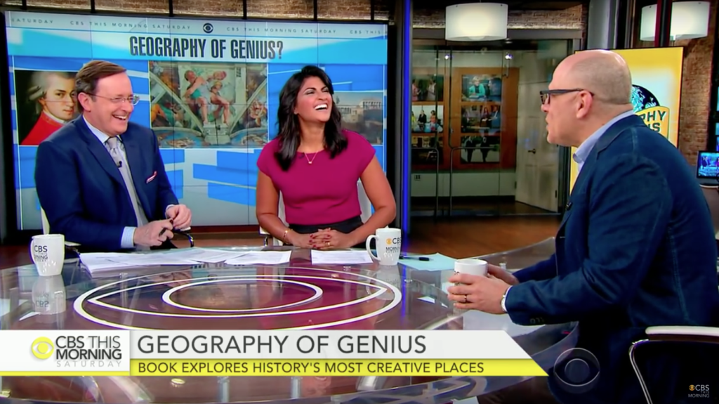 Eric Weiner discusses his book on CBS This Morning