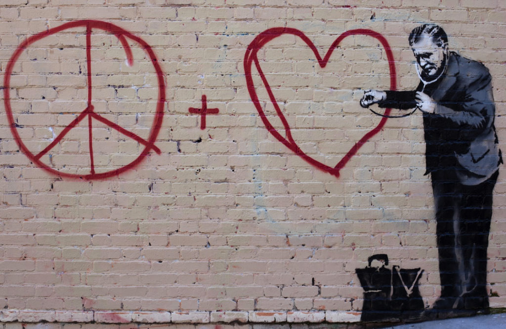 Doctor Love by Banksy (image by Jeremy Brooks, CC BY-NC 2.0)