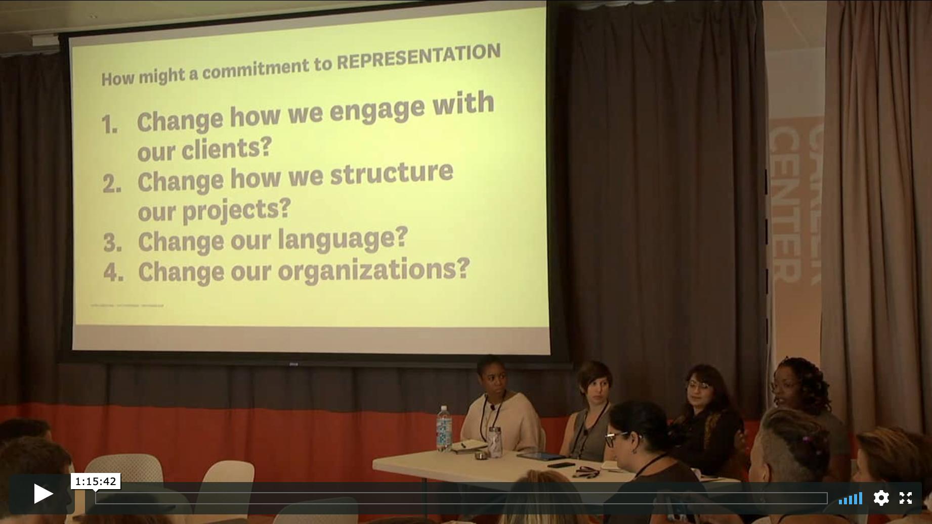 Representation Panel