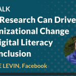 Video: How Research Can Drive Organizational Change for Digital Literacy and Inclusion