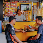 Photo of a neighborhood shop (warung) in Indonesia