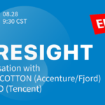 Foresight: a conversation with Martha Cotton (Accenture/Fjord) & Rui Rao (Tencent), hosted by EPIC China