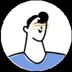 cartoon/avatar of Luc Aractingi